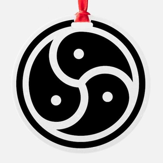 BDSM Triskelion Ornament