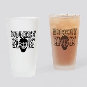 Hockey Mom Drinking Glass