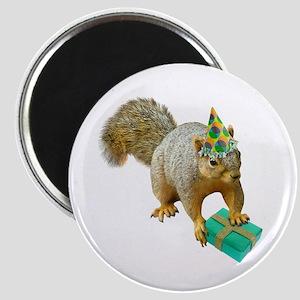 Birthday Squirrel Magnet