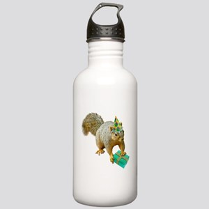 Birthday Squirrel Stainless Water Bottle 1.0L