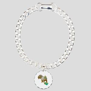 Birthday Squirrel Charm Bracelet, One Charm