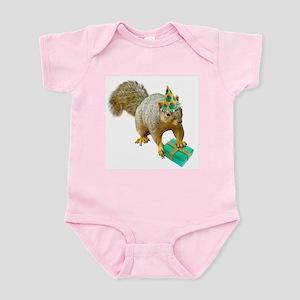 Birthday Squirrel Infant Bodysuit