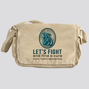 Lets Fight Brain Tumors Messenger Bag