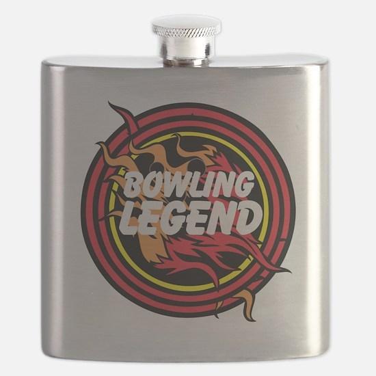 Bowling Legend Flask