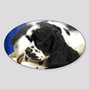 Cocker Spaniel Sticker (Oval)