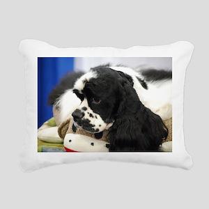 Cocker Spaniel Rectangular Canvas Pillow