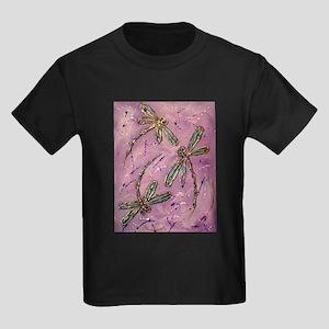 Dragonflies Pink Fizz T-Shirt