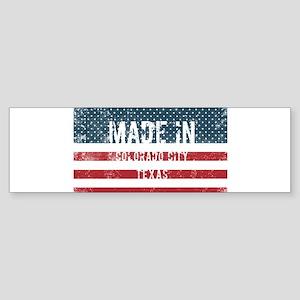 Made in Colorado City, Texas Bumper Sticker