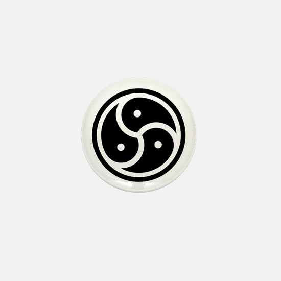 Bdsm Triskelion Mini Button