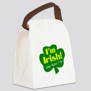 Im Irish Canvas Lunch Bag