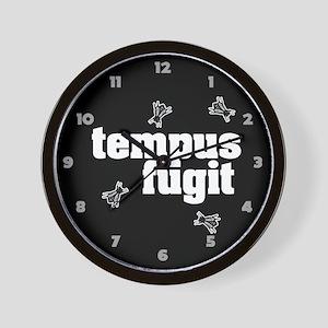 Tempus Fugit 4 Wall Clock