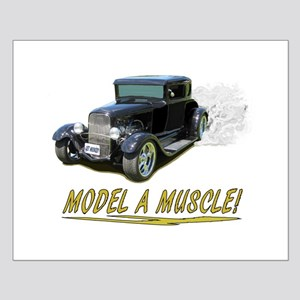 Model A Muscle! Small Poster