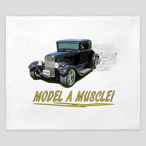 Model A Muscle! King Duvet