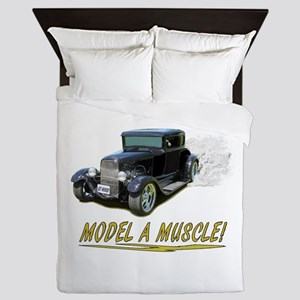 Model A Muscle! Queen Duvet