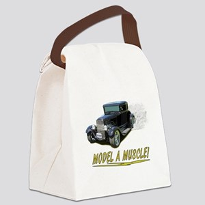 Model A Muscle! Canvas Lunch Bag