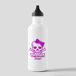 FIBROMYALGIA SKULL Water Bottle