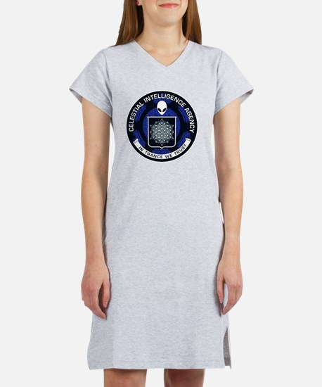 Celestial Intelligence Agency  Women's Nightshirt