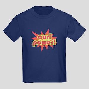 Curl Power Kids Dark T-Shirt