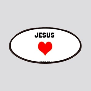 Jesus Loves Everyone Patches