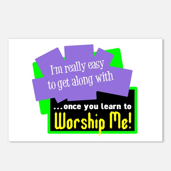 Worship Me Postcards (Package of 8)