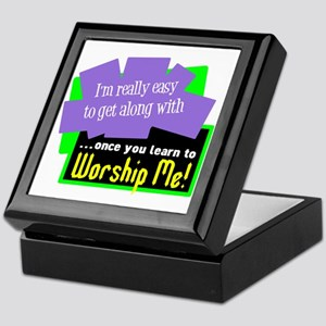 Worship Me Keepsake Box