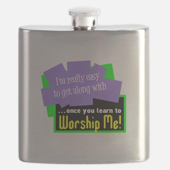 Worship Me Flask