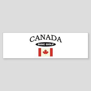 Canada Disc Golf Sticker (Bumper)