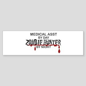 Zombie Hunter - Medical Asst Sticker (Bumper)