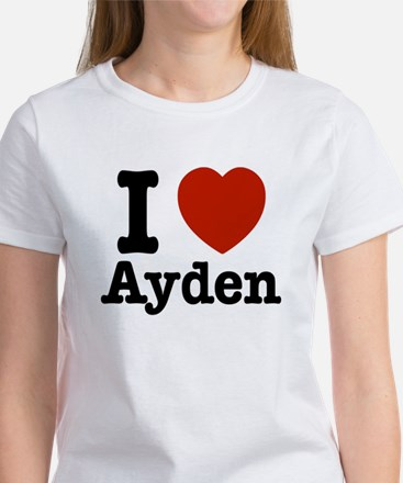 I love Ayden Women's T-Shirt