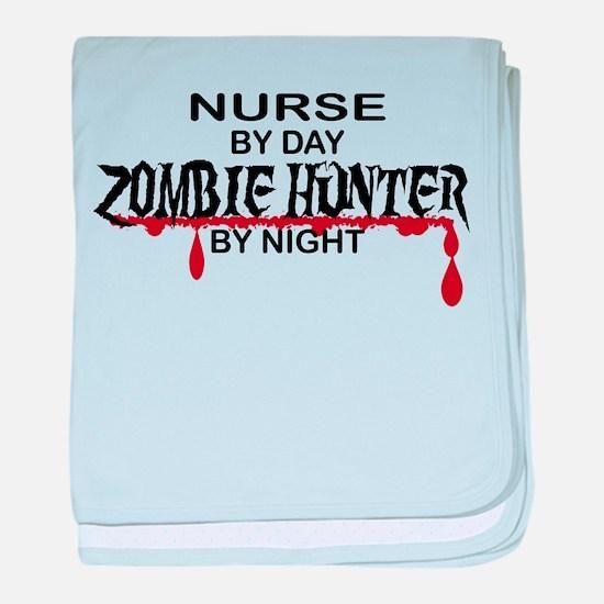 Zombie Hunter - Nurse baby blanket