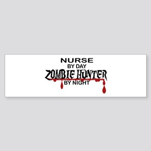 Zombie Hunter - Nurse Sticker (Bumper)