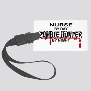 Zombie Hunter - Nurse Large Luggage Tag