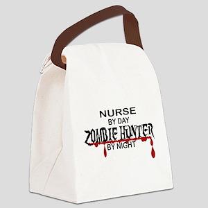 Zombie Hunter - Nurse Canvas Lunch Bag