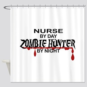 Zombie Hunter - Nurse Shower Curtain