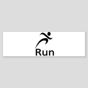 Run Bumper Sticker