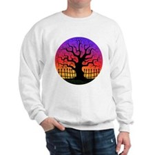Halloween Spooky Tree at Sunset Sweatshirt