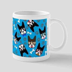 cute boston terrier dog Mug