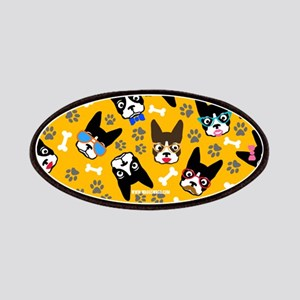 cute boston terrier dog Patches
