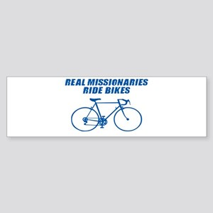 FUNNY LDS MISSIONARY T-SHIRT Bumper Sticker