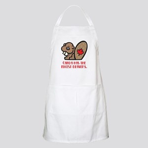Canada Nicest Beavers BBQ Apron