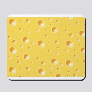Swiss Cheese texture Mousepad