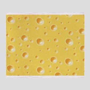 Swiss Cheese texture Throw Blanket