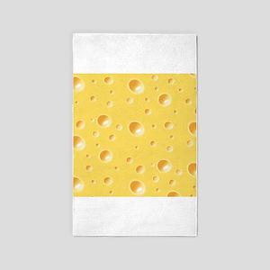 Yellow Cheese 3'x5' Area Rug