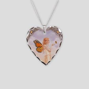 Citrine Birthstone Fairy Necklace