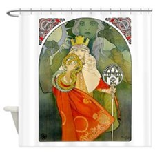 6Th Sokol Festival 1912 By Mucha - Shower Curtain