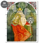The 6Th Sokol Festival 1912 By Mucha - Puzzle