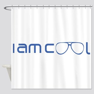 Cool Typography Shower Curtain