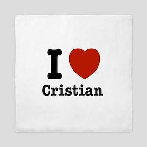 I love Cristian Queen Duvet
