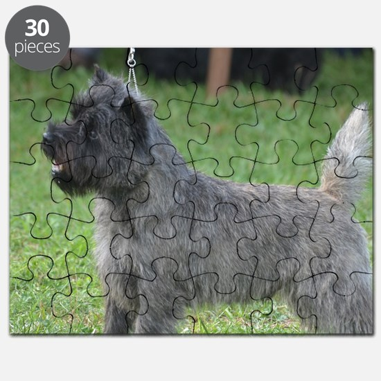 Cute Black Cairn Terrier Puzzle