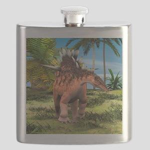 Dinosaur Kentrosaurus Flask